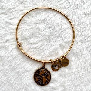 Alex and Ani world bracelet